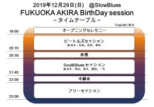 Fukuoka Akira 31th Birthday Session!(福ちゃん誕生祭)